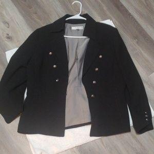 Stylish Black Tahari Brand Fully Lined Blazers